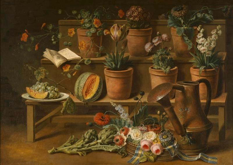 """Erato et le langage des fleurs """"Jardins"""" exposición en el Grand Palais de París"""