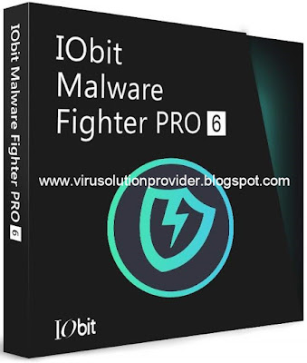 IObit Malware Fighter 7.2 Pro with License Key on Virus Solution Provider