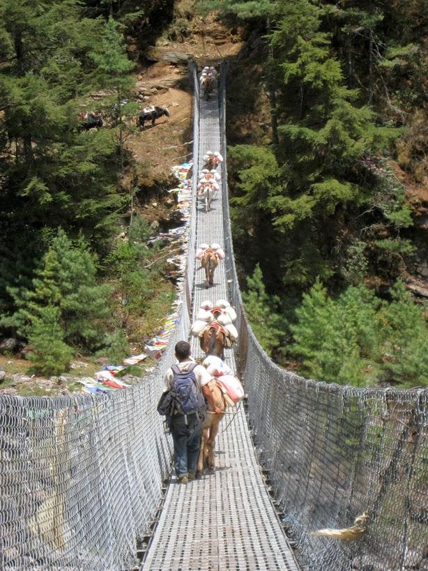 El puente más largo que cruzamos, 109,50 m