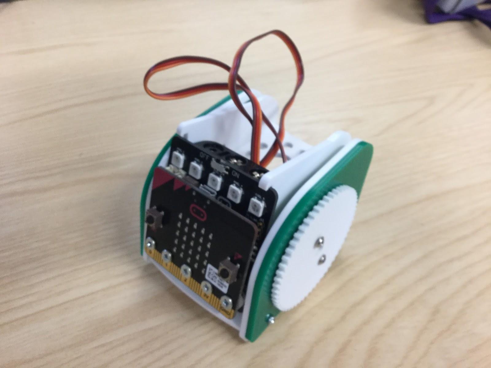 Kitronik Move Mini Buggy Javascript Blocks Electronic Circuit Simulator