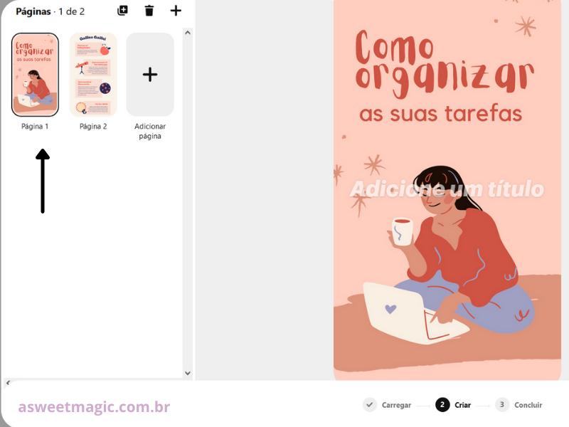 Como postar Idea Pin no Pinterest