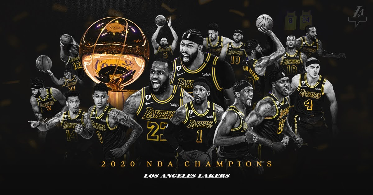 Lakers 2020 NBA CHAMPIONS