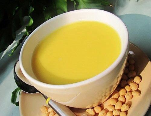 Sữa bí ngô đậu tương