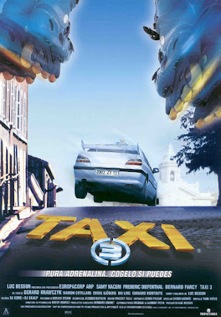 Poster Of Taxi 3 In Dual Audio Hindi French 300MB Compressed Small Size Pc Movie Free Download Only At worldfree4u.com