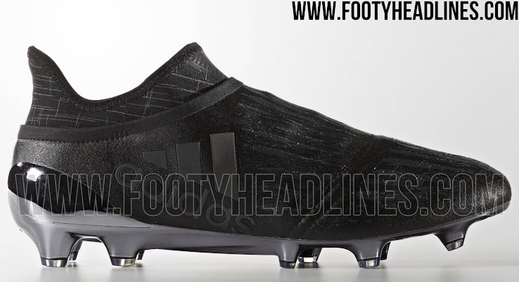 5bad9068141b This is the black Adidas X 16+ Purechaos from the Adidas DarkSpace soccer  boot collection.