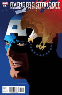 Avengers Standoff #1 - Steranko Variant