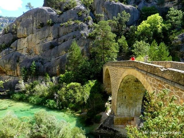 Puente de Peñalén, Parque Natural del Alto Tajo