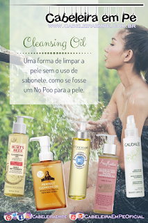 No Poo para a Pele - Cleansing Oil