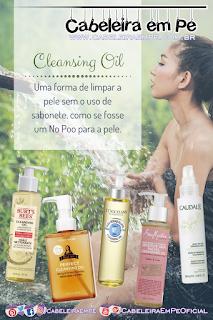 No Poo para a Pele - Cleansing Oil