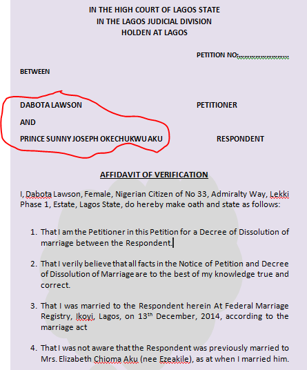 dabota lawson divorce paper