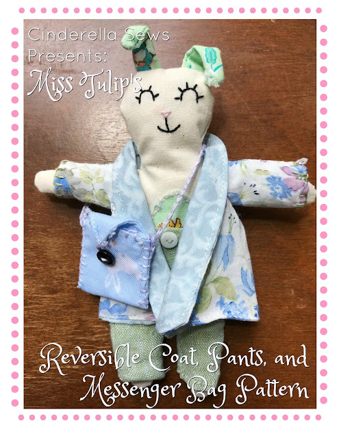 Handmade Doll Fashion Essentials Sewing Patterns and Tutorial #sewing #handsewing #dollmaking #heirloomdoll