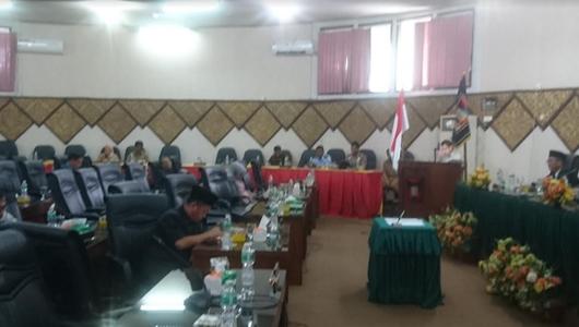DPRD Setujui Ranperda Pertanggungjawaban APBD Kota Padang 2018