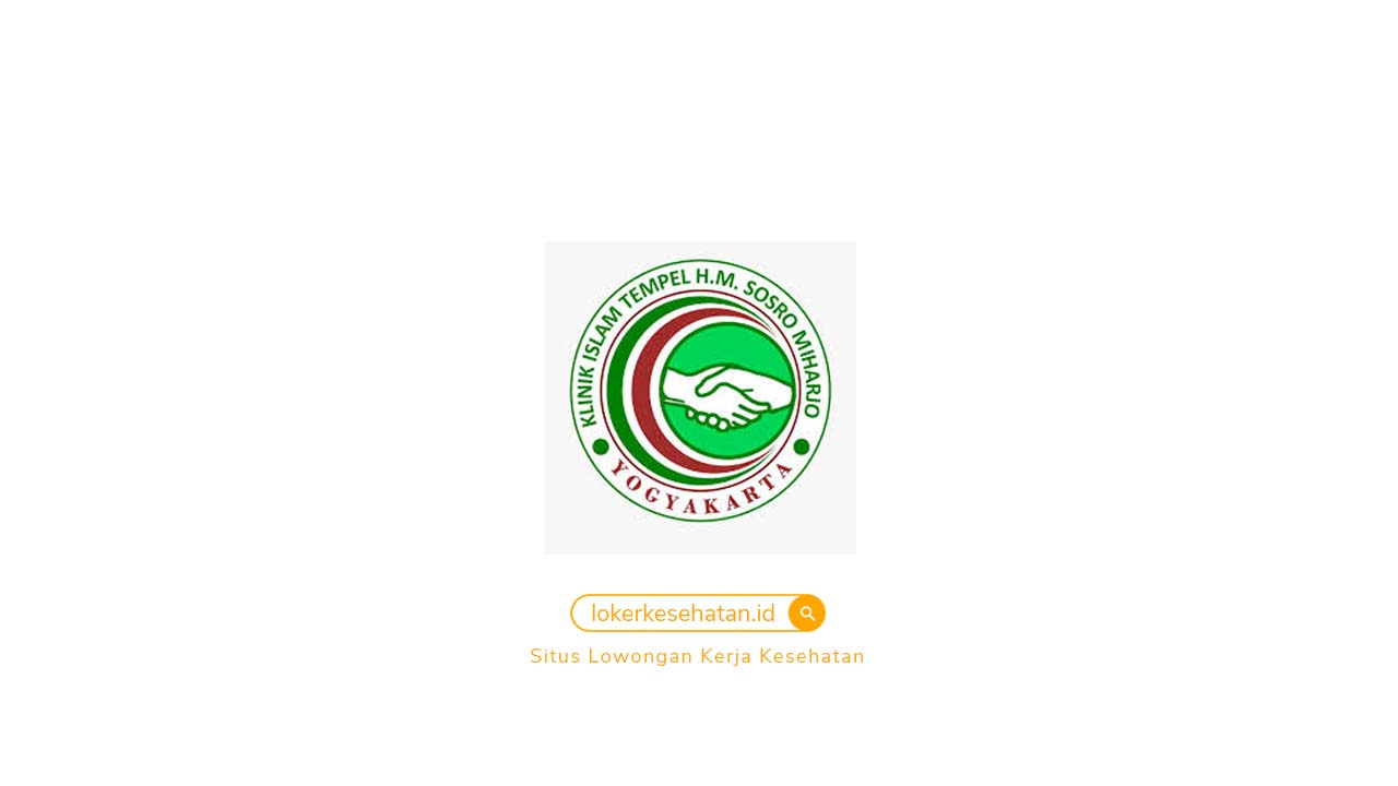 Lowongan Kerja Klinik Pratama Sosromiharjo Sleman Yogyakarta