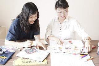 Lớp học vẽ online dành cho người lớn - ký sự