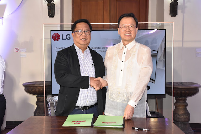 IA Administrator Atty. Guiller Asido and LG Managing Director Mr. Inkwun Heo formalize the partnership in the newly opened Museo de Intramuros