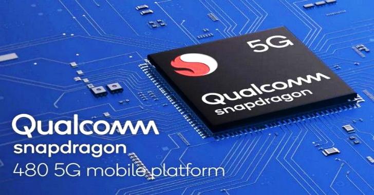 Qualcomm Launches Snapdragon 480 5G SoC