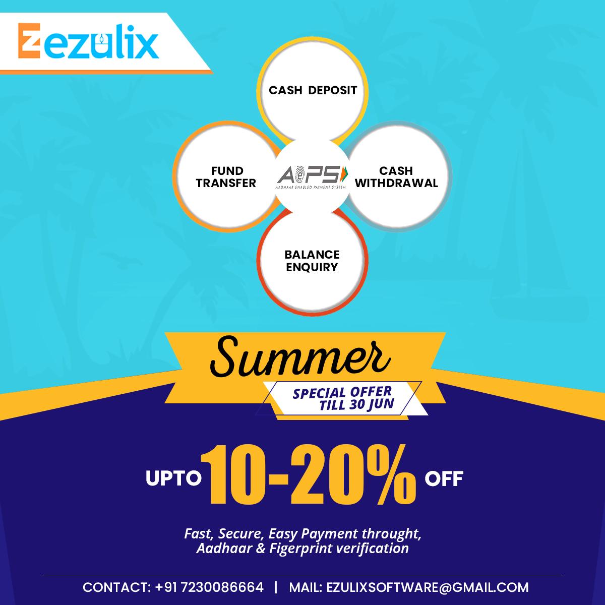 Ezulix - Web Design and Mobile App Development: aeps api