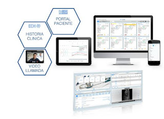 Imagen del interfaz de Hospital Virtual