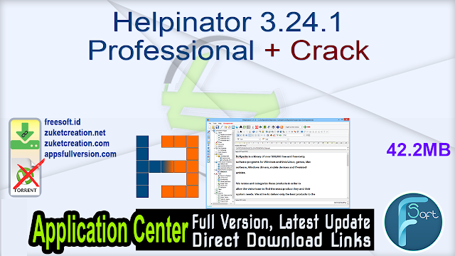 Helpinator 3.24.1 Professional + Crack
