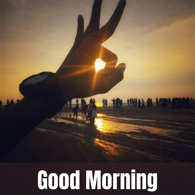 Good Morning Images with Sunrise