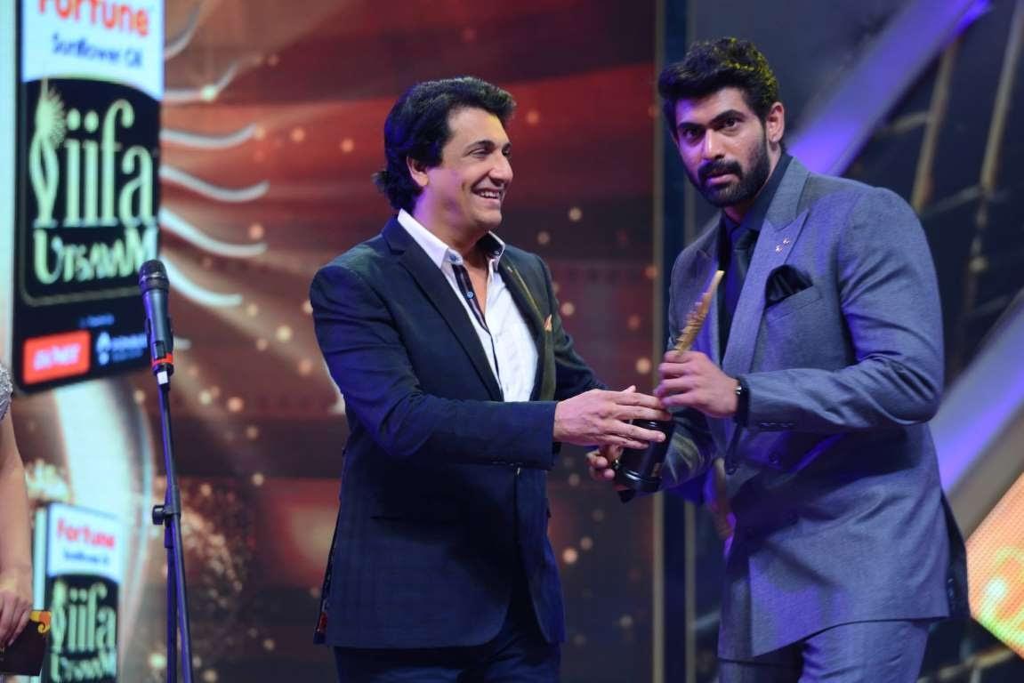 Best Performance in a Negative Role award went to Baahubali actor Rana Daggubati