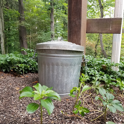 Trash Can for Birdseed