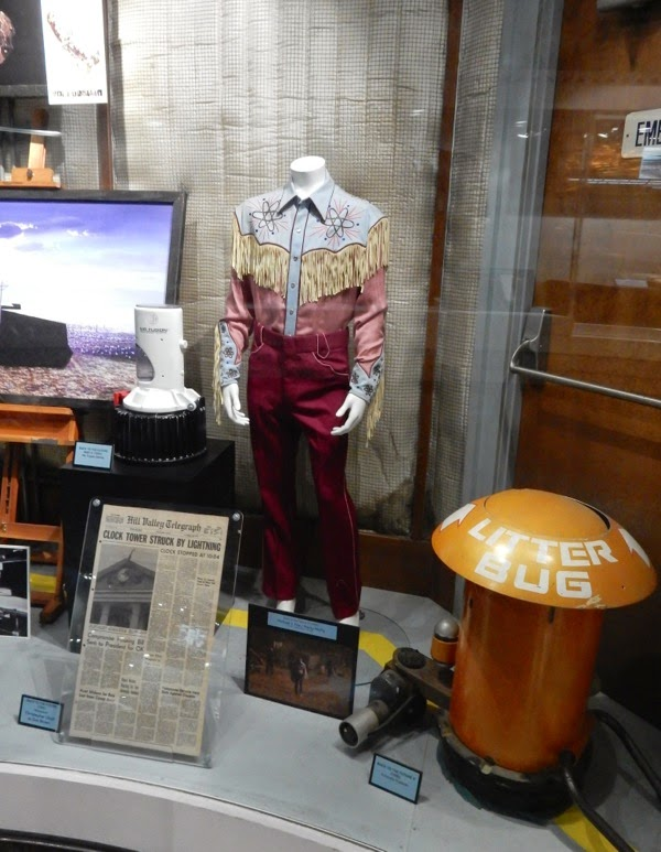 Original Back to the Future film costume props