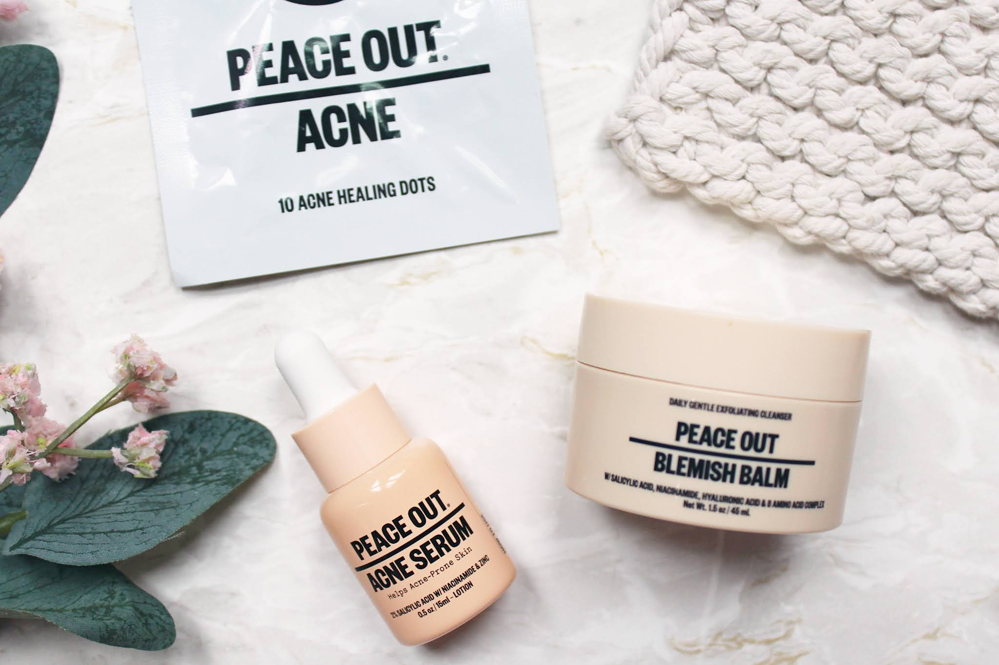 Peace Out Acne Champions Kit Review