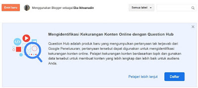 Mengenal Question Hub dari Google