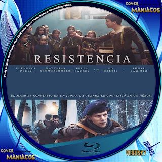 GALLETA RESISTENCIA - RESISTANCE 2020[COVER BLU-RAY]