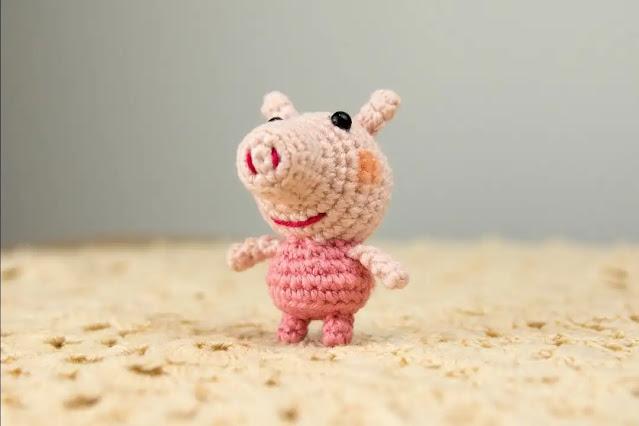 Aprende a Tejer Mini Amigurumi de Peppa a Crochet