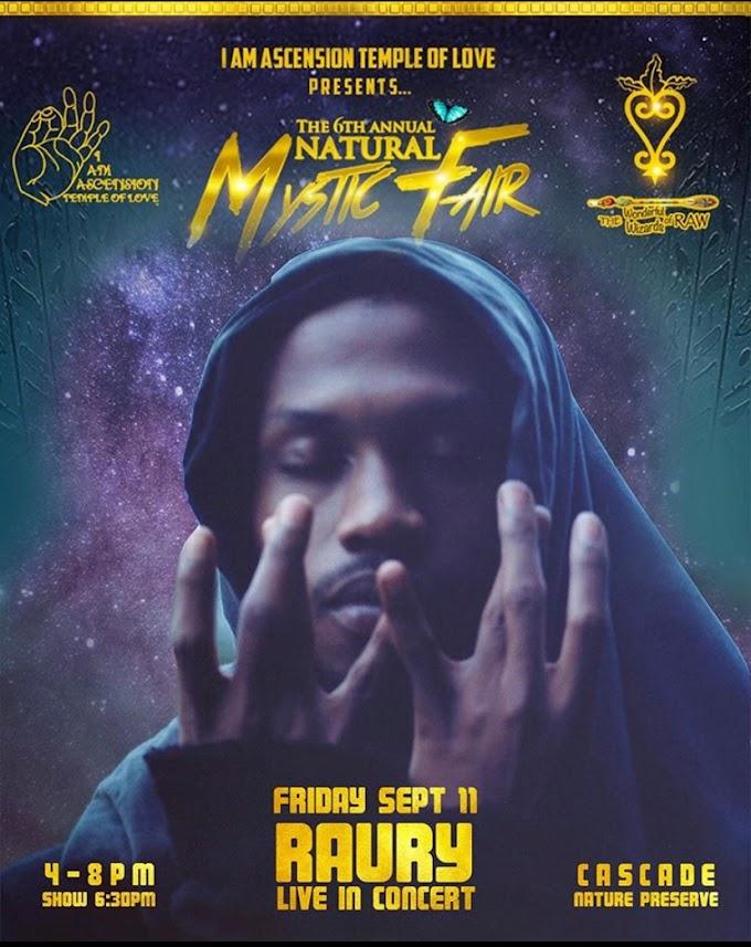 The 6th Annual Natural Mystic Fair featuring Raury in ATL GA