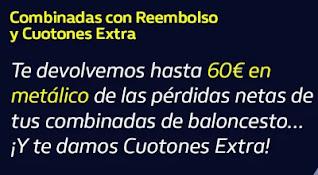 william hill Reembolso de hasta 60€ en metálico 22-12-2020