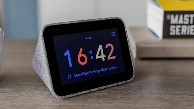 4. Lenovo Smart Clock