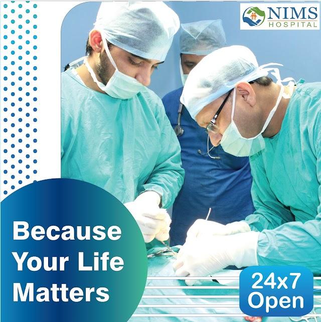 24x7 Hospital in Jaipur : Nims Hospital