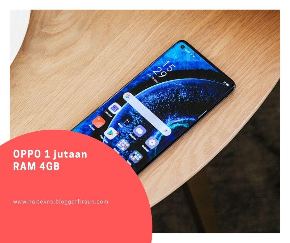 HP OPPO 1 jutaan terbaik