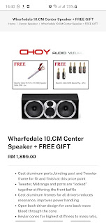 Whafedale Diamond 10.CM center speaker (Used) Screenshot_20200902-144042_Samsung%2BInternet