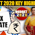 Budget 2020: Highlights FM Nirmala Sitharaman: Changes In Income Tax Slabs India