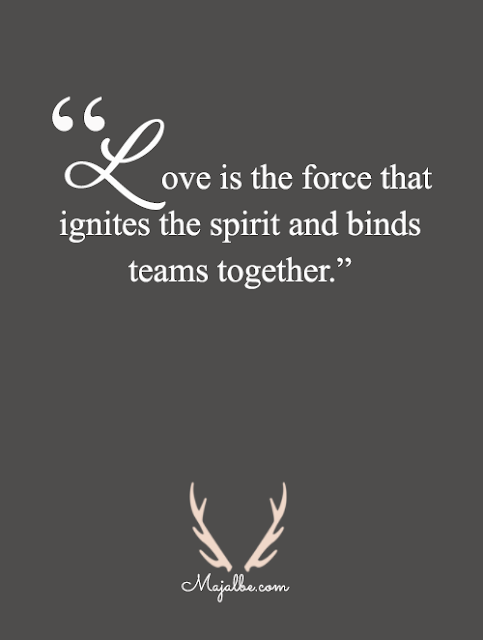 Love Is The Force Love Quotes