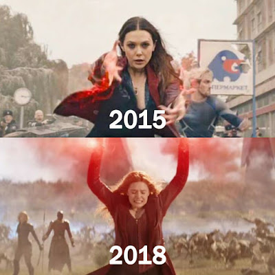 Karakter Avengers Dulu Dan Kini Yang Banyak Perubahan