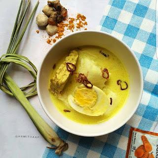 Ide Resep Masak Opor Telur-Tempe dan Ketupat