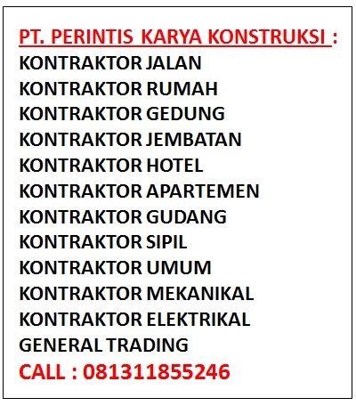 Daftar Perusahaan Kontraktor Grade 7