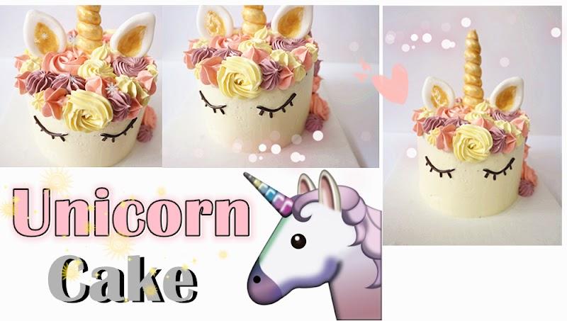 Unicorn Cake 獨角獸蛋糕