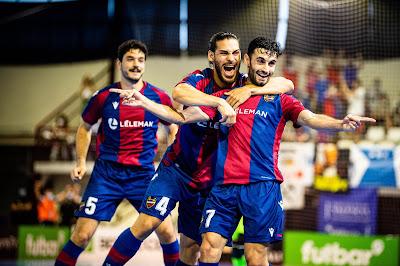 Un Levante UD FS finalista y de Champions League