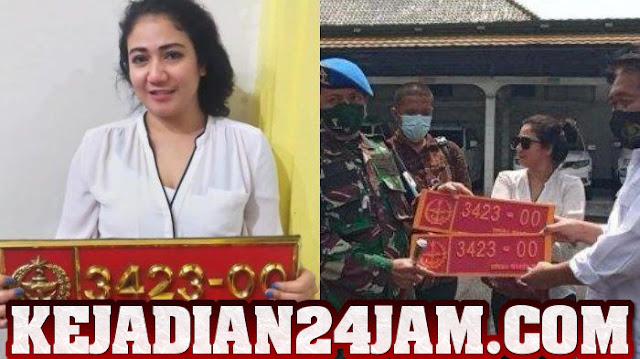 Inilah Motif Wanita Yang Menggunakan Pelat Dinas Palsu TNI