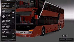 London Bus Skin for Setra S431DT