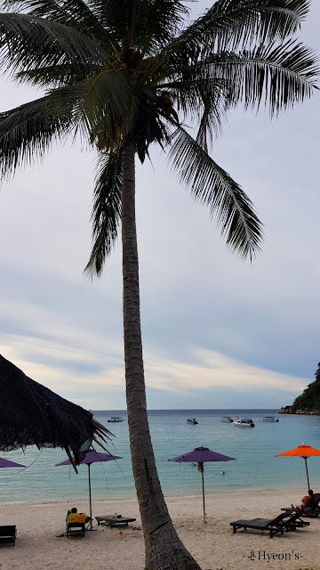 Hyeon Travel Journal; Pulau Perhentian Resort; Tiffany Blue Sea