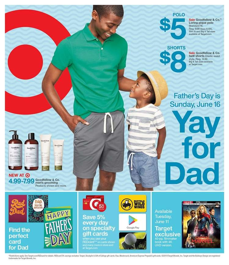 Target Weekly Ad June 16 22 2019 And Target Ad 62319