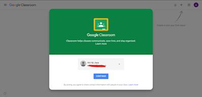 media pembelajaran menggunakan google classroom