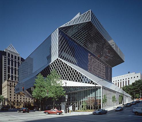 Arquitectura-Deconstructivista-Deconstructivismo-Deconstruccion-Rem-Koolhaas-Seattle-Public-Library